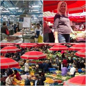 Dolac open air market Zagreb