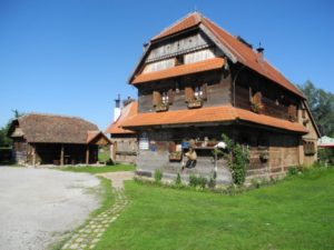 Ethno village Kumrovec, bithplace of Marshall Tito