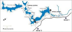Plitvicer Seen karte